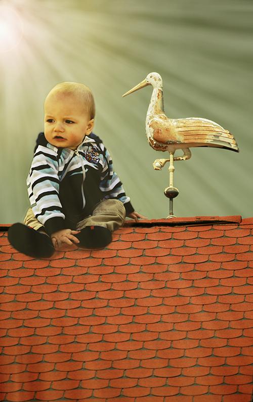 na dachu 5