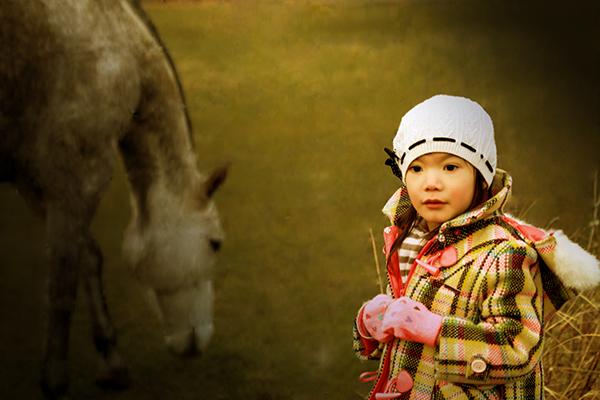 misha z koniem mniejsze